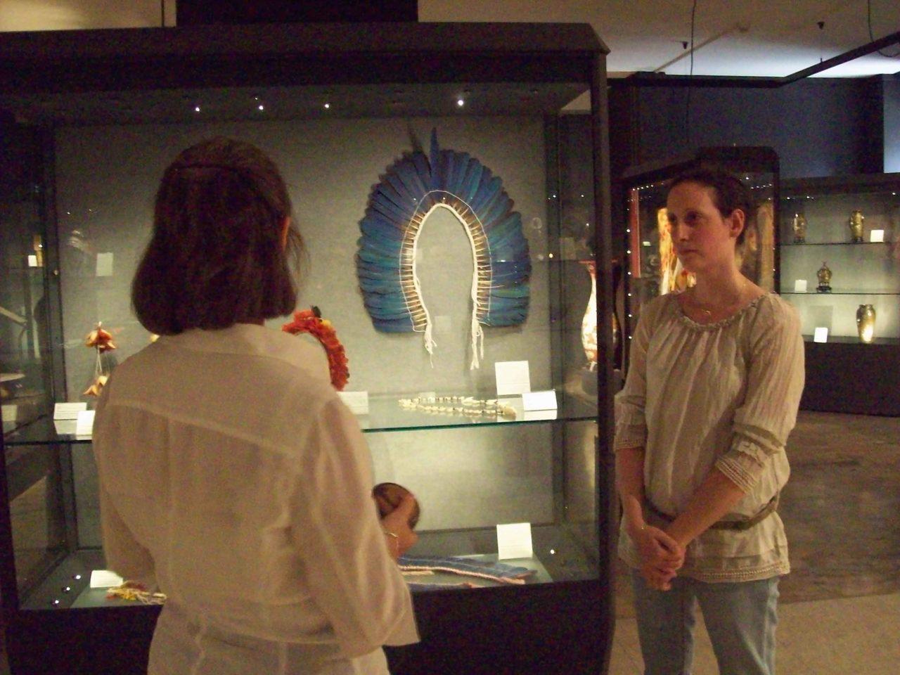 TAM TAM - Museo Popoli e Culture PIME, vetrina sugli ornamenti indios Amazzonia