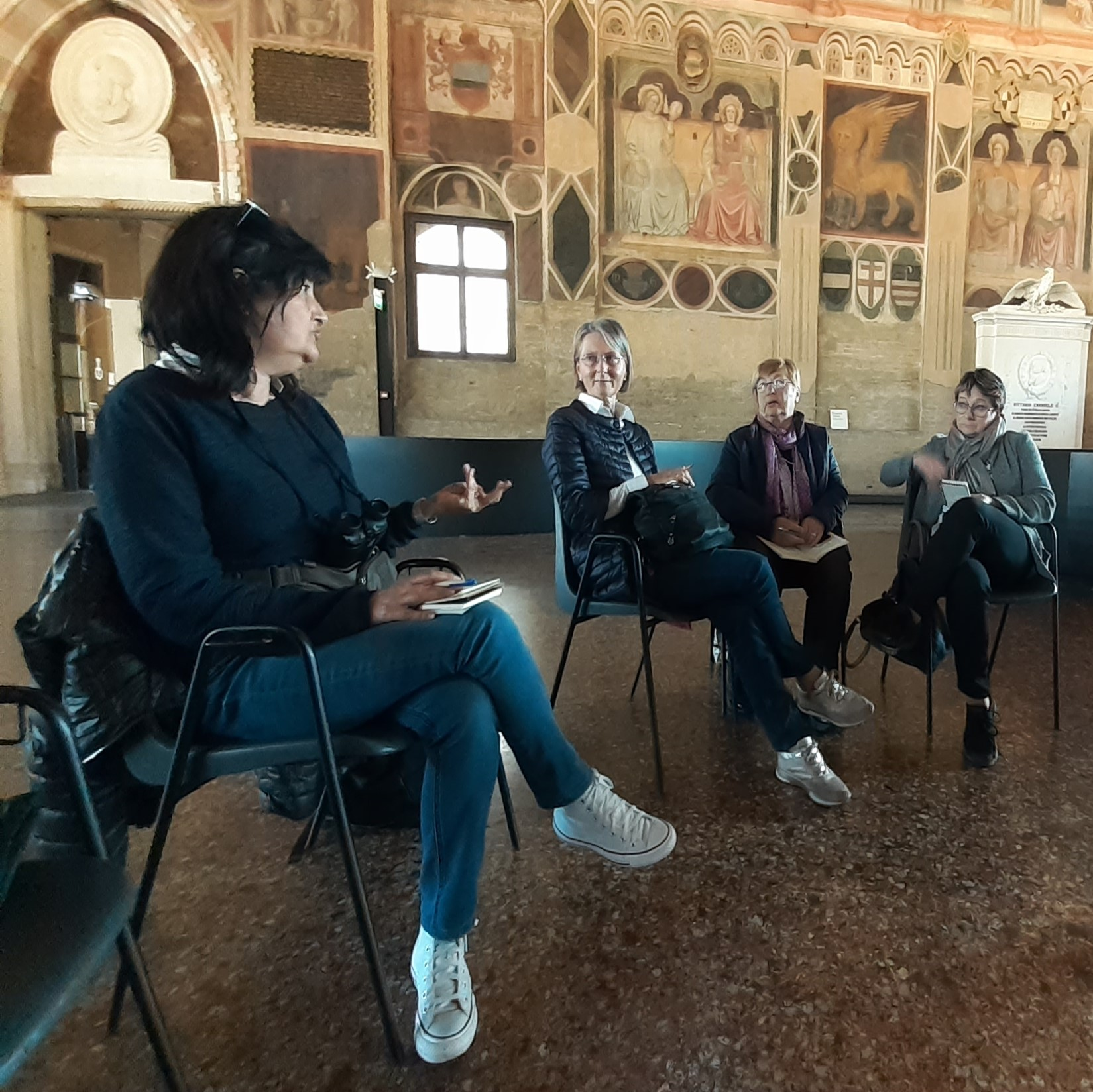 L'arte del volontariato, Anteas, Palazzo della Ragione di Padova