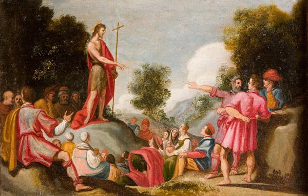 Zanobi Rosi, Predica di San Giovanni Battista